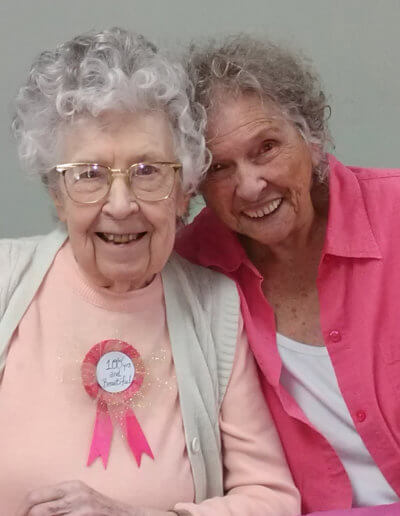 100th Birthday at Cherry Hill Assisted Living
